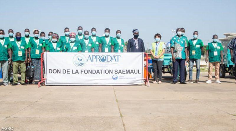Agropole de Kara: L'APRODAT promet un micro-projet d'assainissement