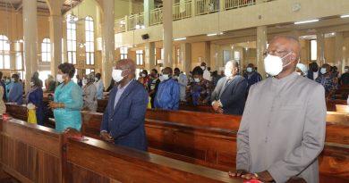 1er anniversaire du quinquennat 2020-2025 de Faure Gnassingbé : Catholiques et protestants ont magnifié la bonté du Seigneur pour toute l'œuvre qu'il a faite autour du président de la République
