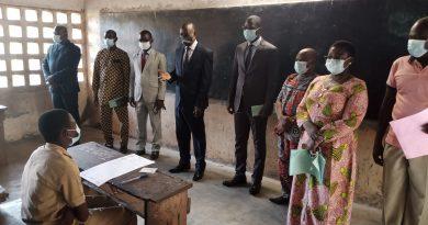 Togo/Examen du BEPC : Le ministre Kokou Eké Hodin, porteur du message du gouvernement aux candidats