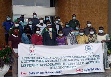 Conservation de la biodiversité : Le Togo se dote d'un guide d'orientation sur la prise en compte du genre dans l'élaboration des textes juridiques, projets et programmes