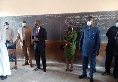 Togo/Rentrée scolaire 2021-2022 : Ministre Kokou Eké Hodin « Nous avons constaté l'effectivité de la rentrée scolaire 2021-2022 dans de bonnes conditions. Nous avons observé que tous les chefs d'établissements ont bien préparé la rentrée académique et que les dispositions prises répondent parfaitement aux objectifs du gouvernement en l'occurrence le respect des mesures barrières… »